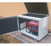Шумозащитный кожух для бензогенератора до 8 кВт.